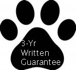 3-YEAR WRITTEN GUARANTEE